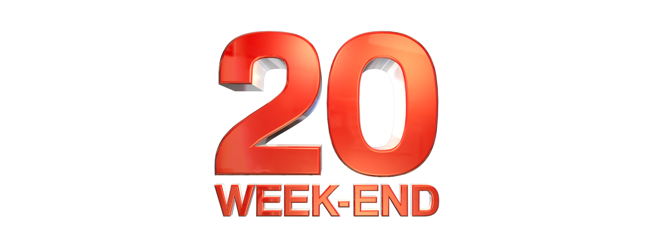 logo 20h week end