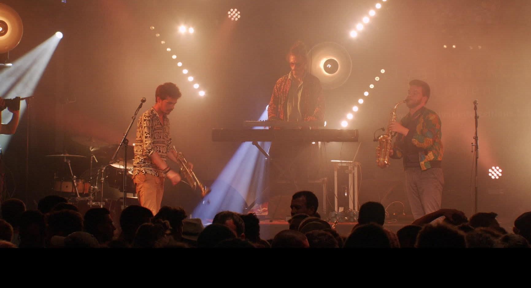 Les Modkozmik en concert