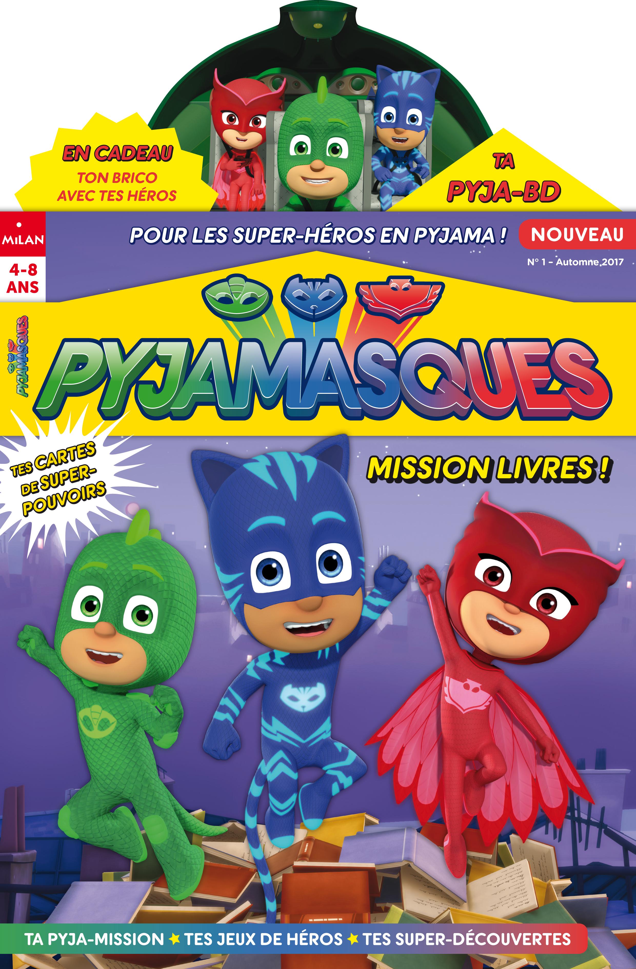 Communiqué De Presse Magazine Pyjamasques Francetv Pro
