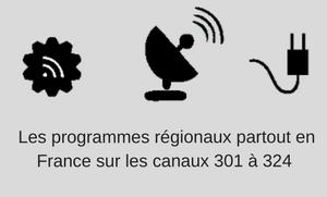 Trouvez les programmes régionaux