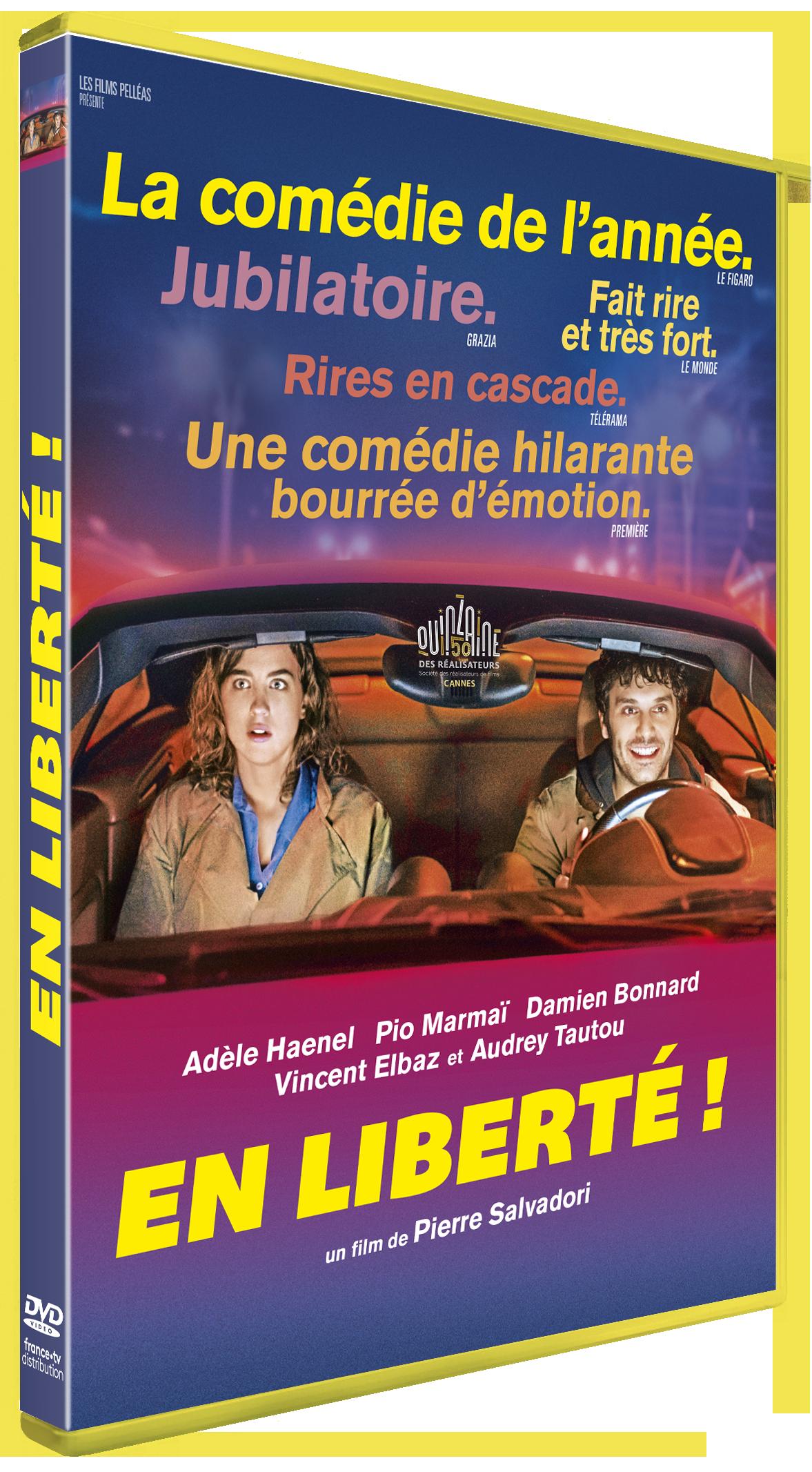 dvd du film En liberté