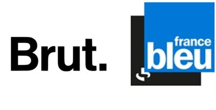 Logo brut et France Bleu